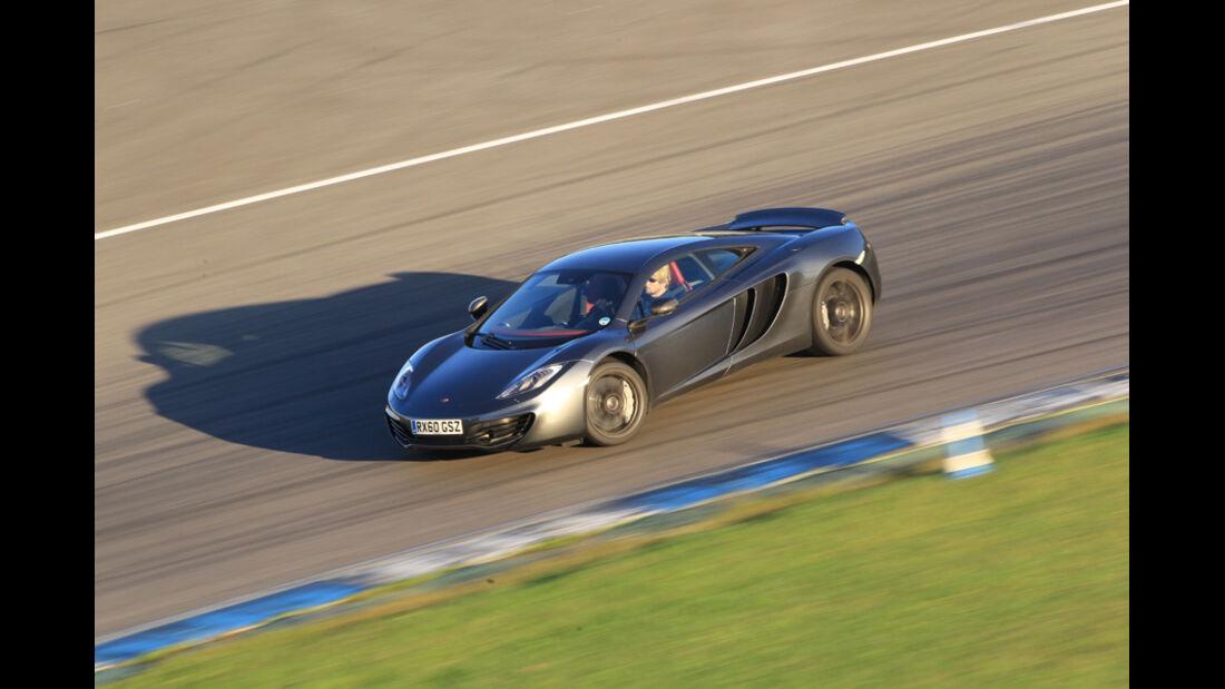 McLaren MP4-12C, Seitenansicht