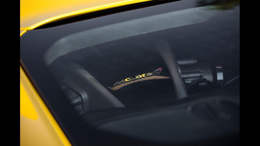 McLaren MP4-12C Spider, Fenster