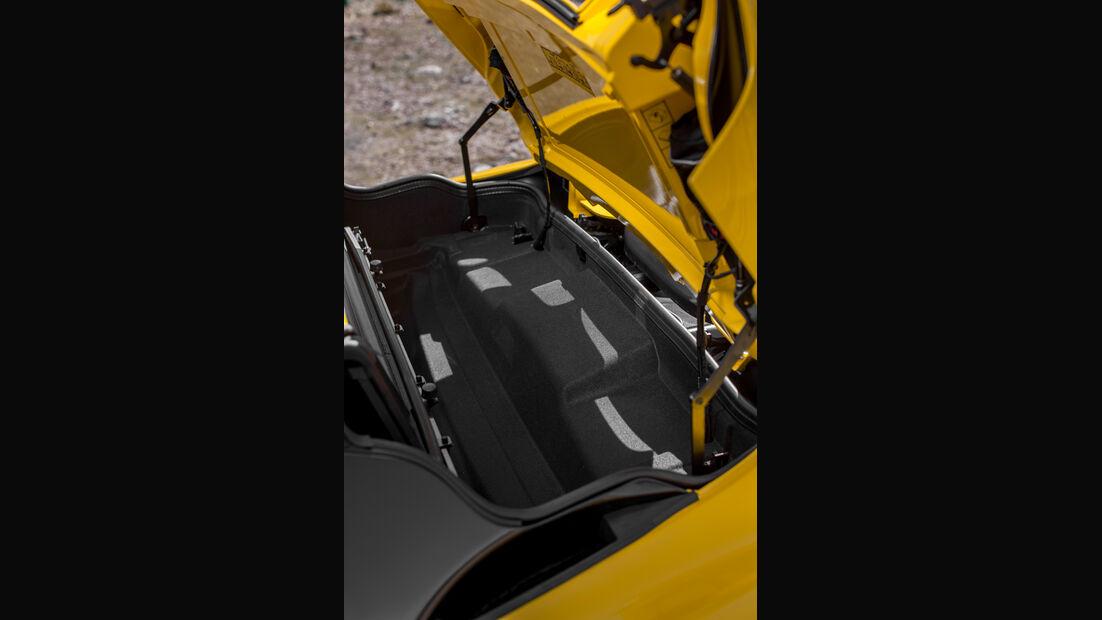 McLaren MP4-12C Spider, Kofferraum