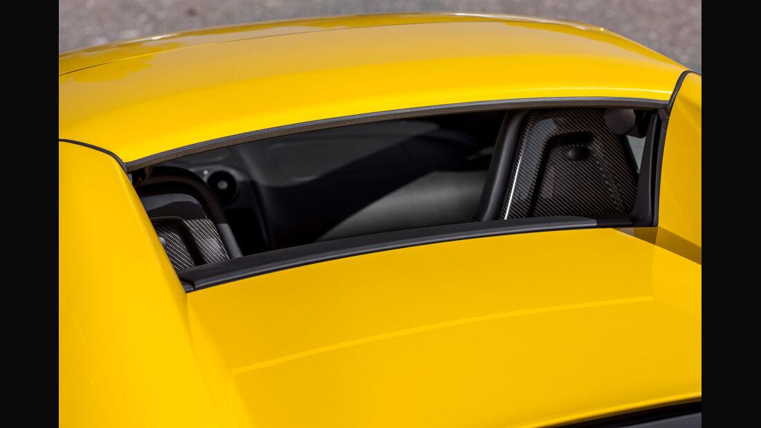 McLaren MP4-12C Spider, Rückfenster