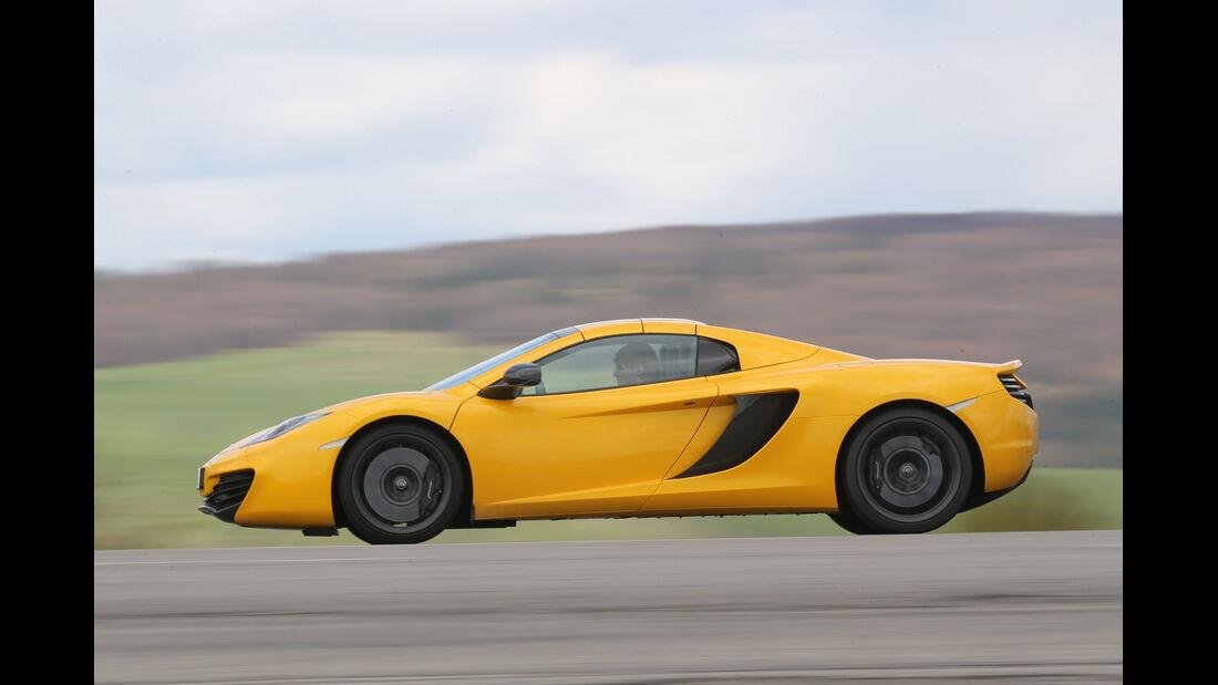 McLaren MP4-12C Spider, Seitenansicht