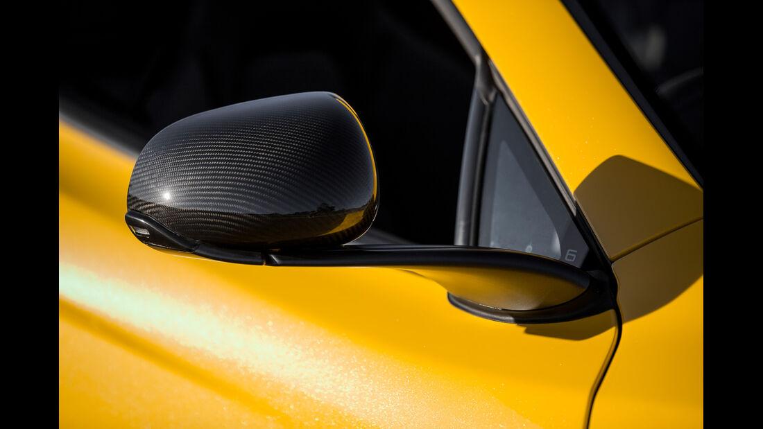 McLaren MP4-12C Spider, Seitenspiegel