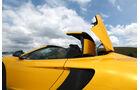 McLaren MP4-12C Spider, Verdeck, Schließen