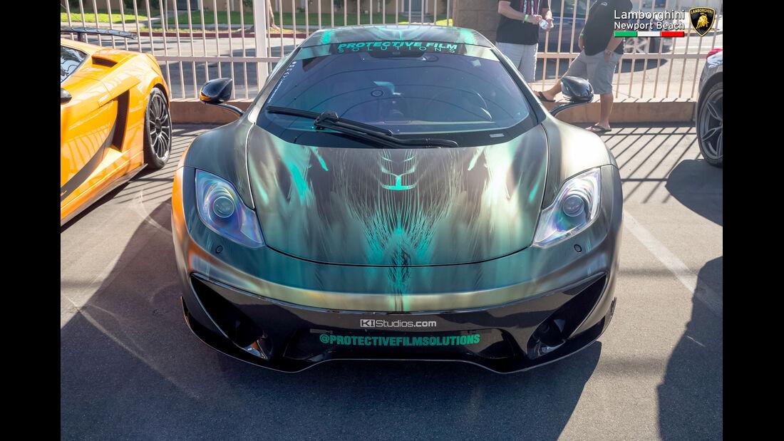 McLaren MP4-12C - Supercar-Show - Newport Beach - Oktober 2016