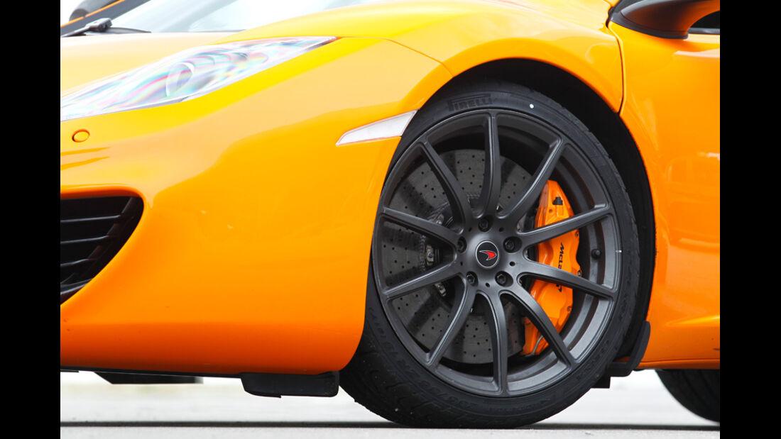McLaren MP4-12C, Vorderrad, Felge