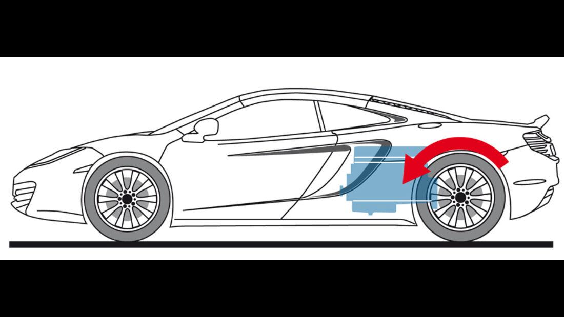 McLaren MP4-12C, Zeichnung