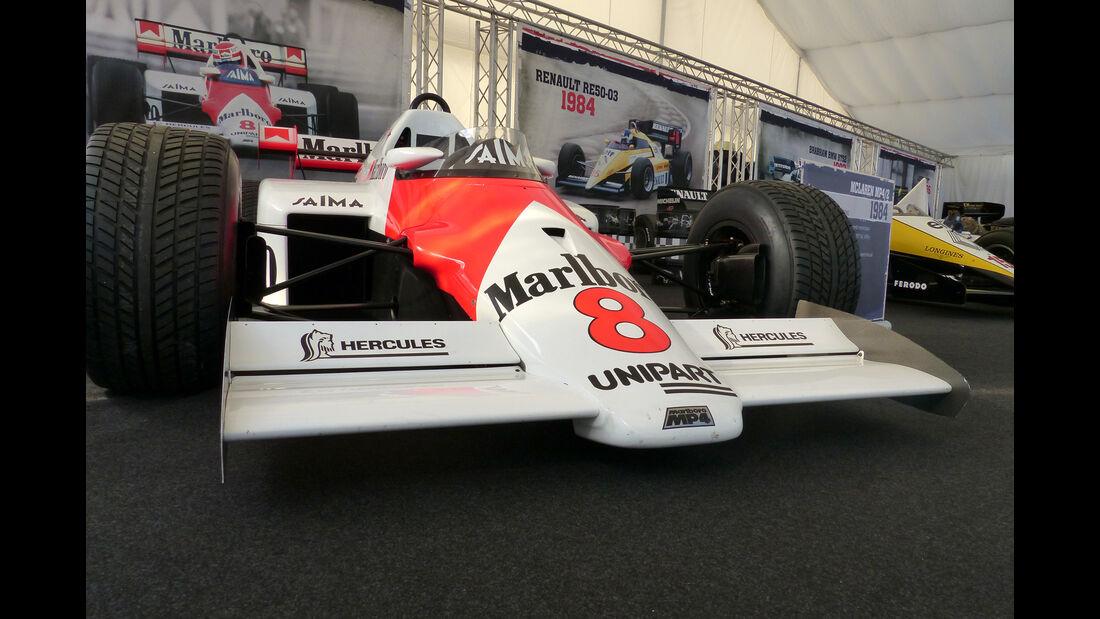 McLaren MP4-2 - Legends Parade - GP Österreich 2015