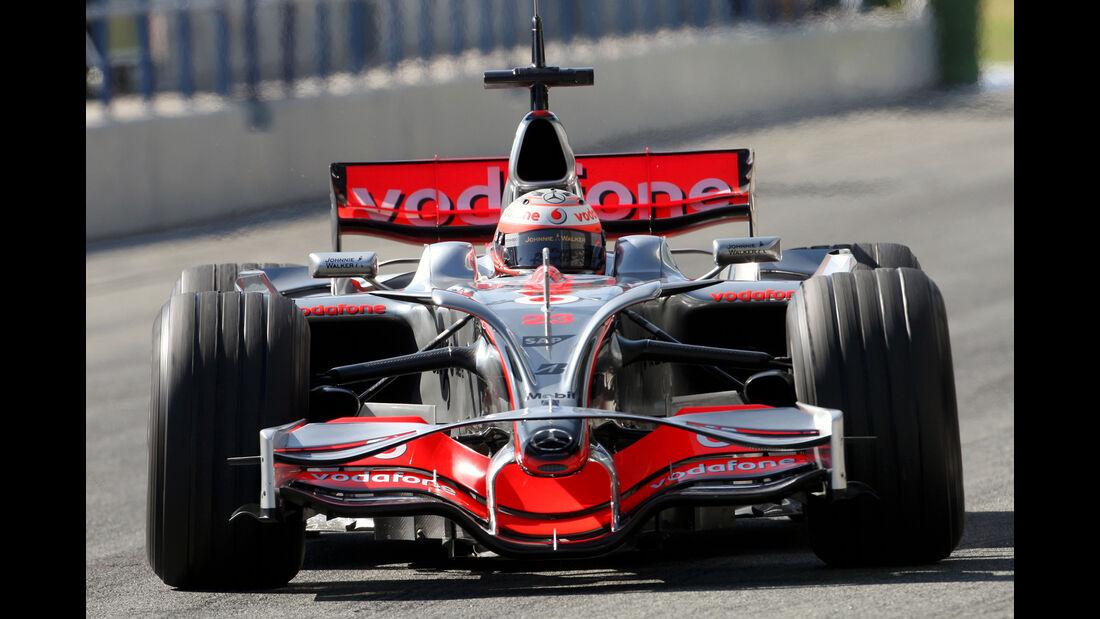 McLaren MP4/23 - Formel 1 - 2008