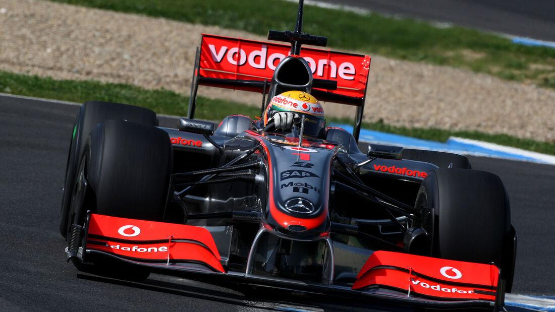 McLaren MP4-24 - Formel 1 2009