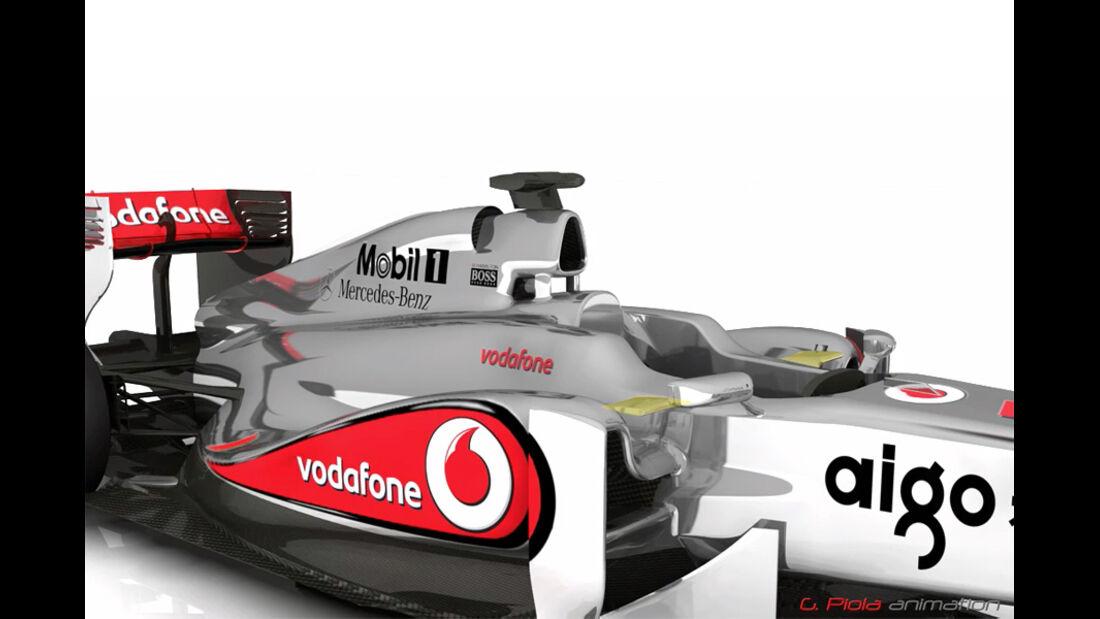 McLaren MP4-26 - 3D-Animation