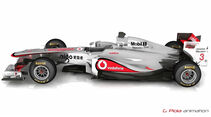 McLaren MP4-26 - 3D-Animation