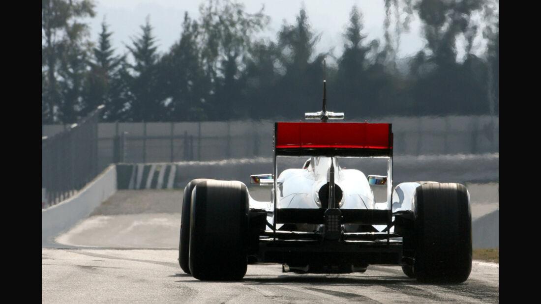 McLaren MP4-26 Formel 1 Test Barcelona 2011