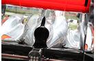 McLaren MP4-26, Heckflügel, Luftauslass