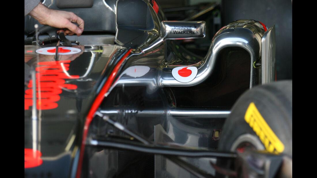 McLaren MP4-26 Test 2011
