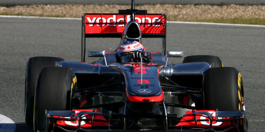McLaren MP4-27 Formel 1 Jerez 2012