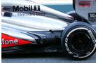 McLaren MP4-28 Auspuff F1 2013
