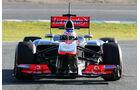 McLaren MP4-28 Nase F1 Jerez 2013