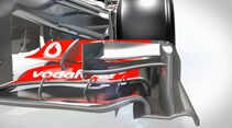 McLaren MP4-28 - Technik-Updates - 2/2013