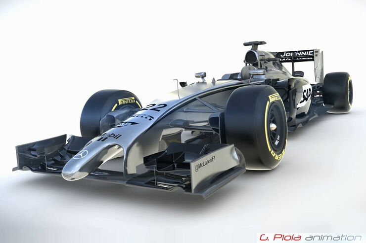 McLaren MP4-29 - Updates - 2014 - Piola Animation