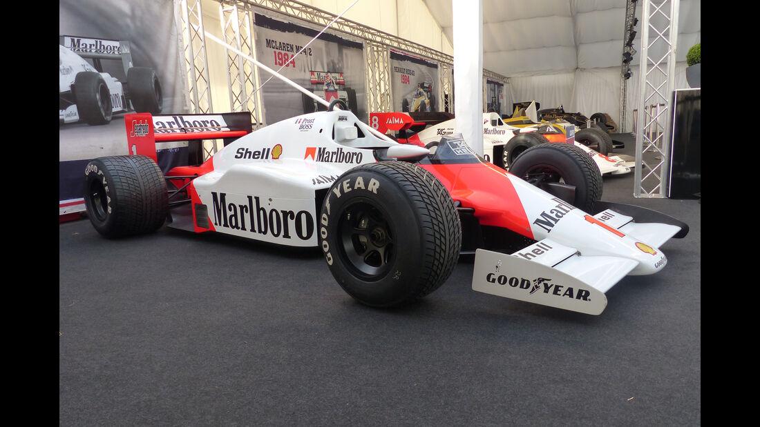 McLaren MP4-2B - Legends Parade - GP Österreich 2015