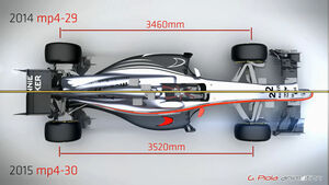 McLaren MP4-30 - Piola Technik Animation - F1 2015