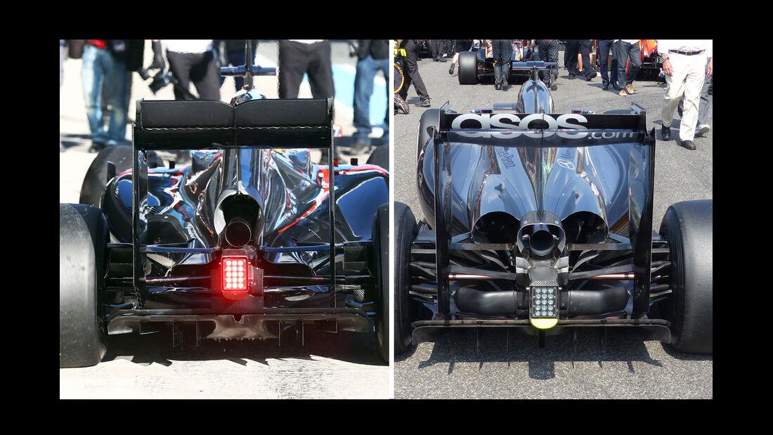 McLaren MP4-30 - Technik-Check - Formel 1 - 2015
