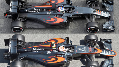 McLaren - MP4-31 - Technik - F1 2016