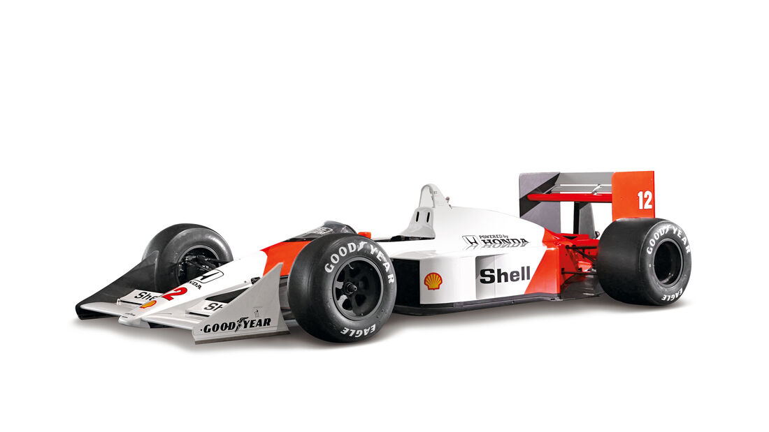 McLaren MP4-4 - Beste F1-Autos