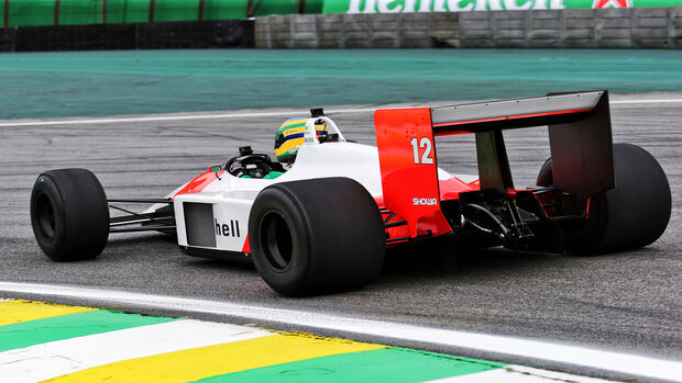 McLaren MP4/4 -Bruno Senna - Formel 1 - GP Brasilien - Sao Paulo - 14. November 2019