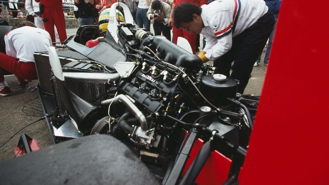 McLaren MP4-4 - Honda V6-Turbo Motor - 1988