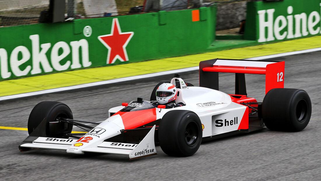 McLaren MP4/4 - Martin Brundle - Formel 1 - GP Brasilien - Sao Paulo - 14. November 2019