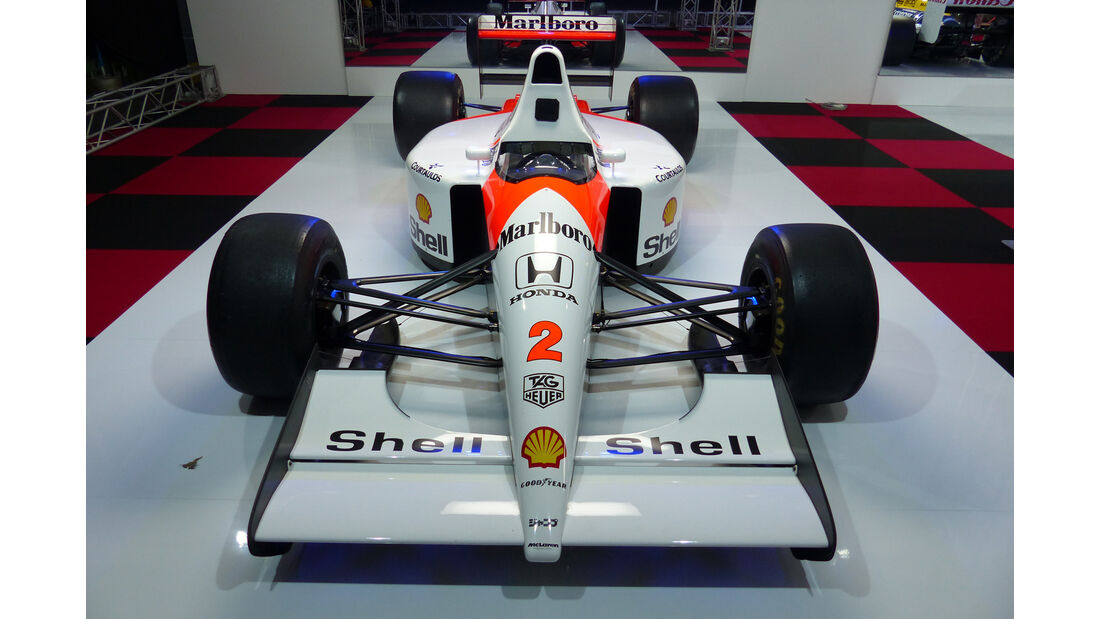 McLaren MP4/6 - F1-Legenden - Suzuka - GP Japan 2015