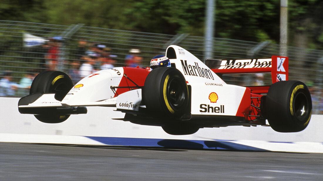 McLaren MP4/8 - Mika Häkkinen - GP Australien 1993