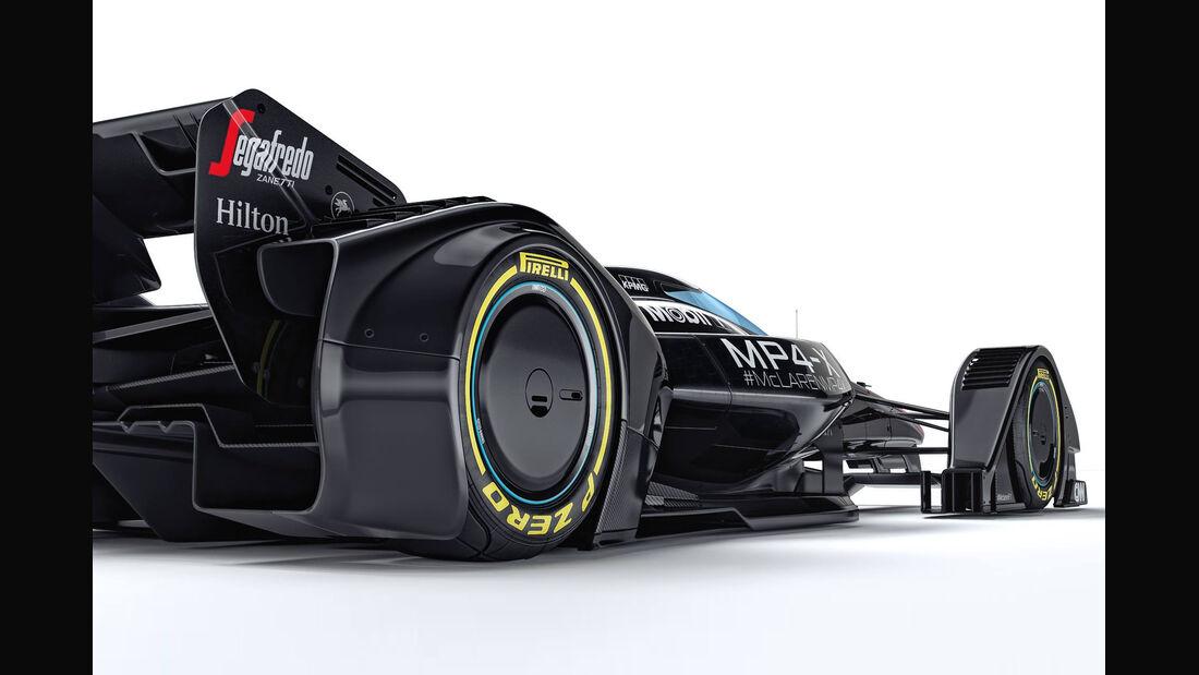 McLaren MP4-X - Concept - 2015