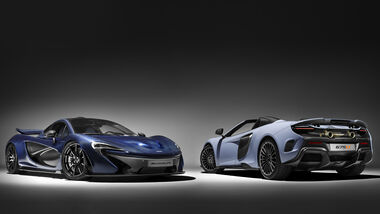 McLaren - MSO - Genfer Autosalon 2016