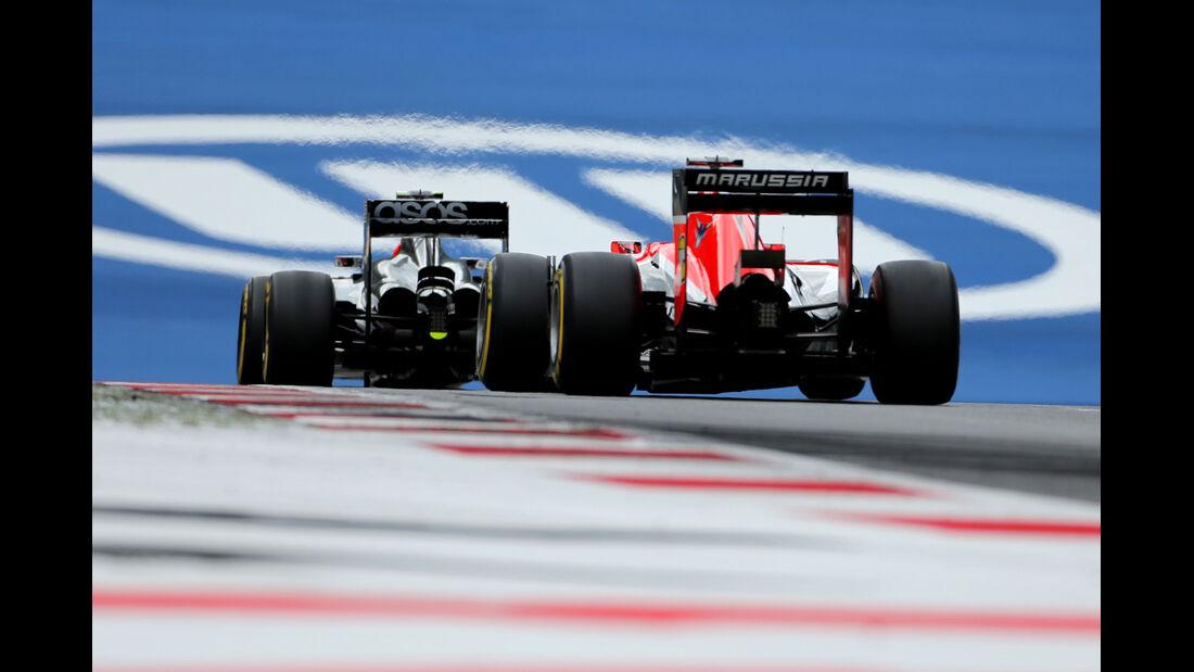 McLaren & Marussia - Formel 1 - GP Österreich - Spielberg - 21. Juni 2014