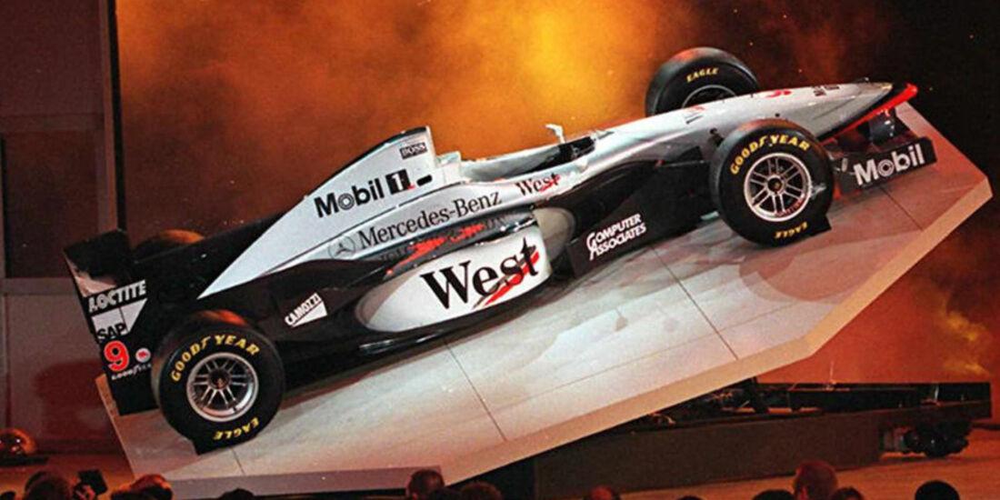 McLaren Mercedes 1997