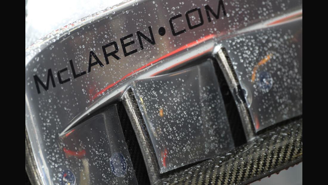 McLaren-Mercedes - GP Belgien - Qualifying - 27.8.2011