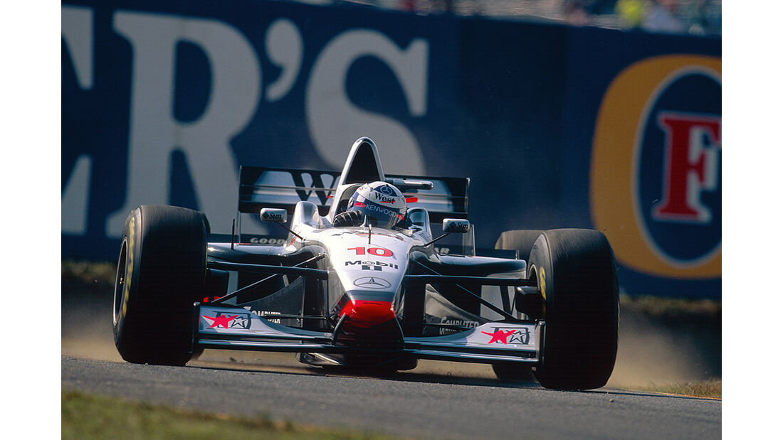 McLaren Mercedes MP4-12 Coulthard 1997