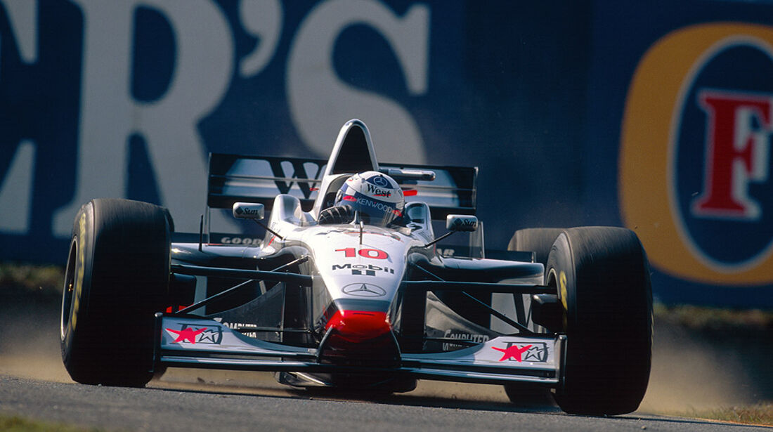 McLaren Mercedes MP4-12 Coulthard 1997