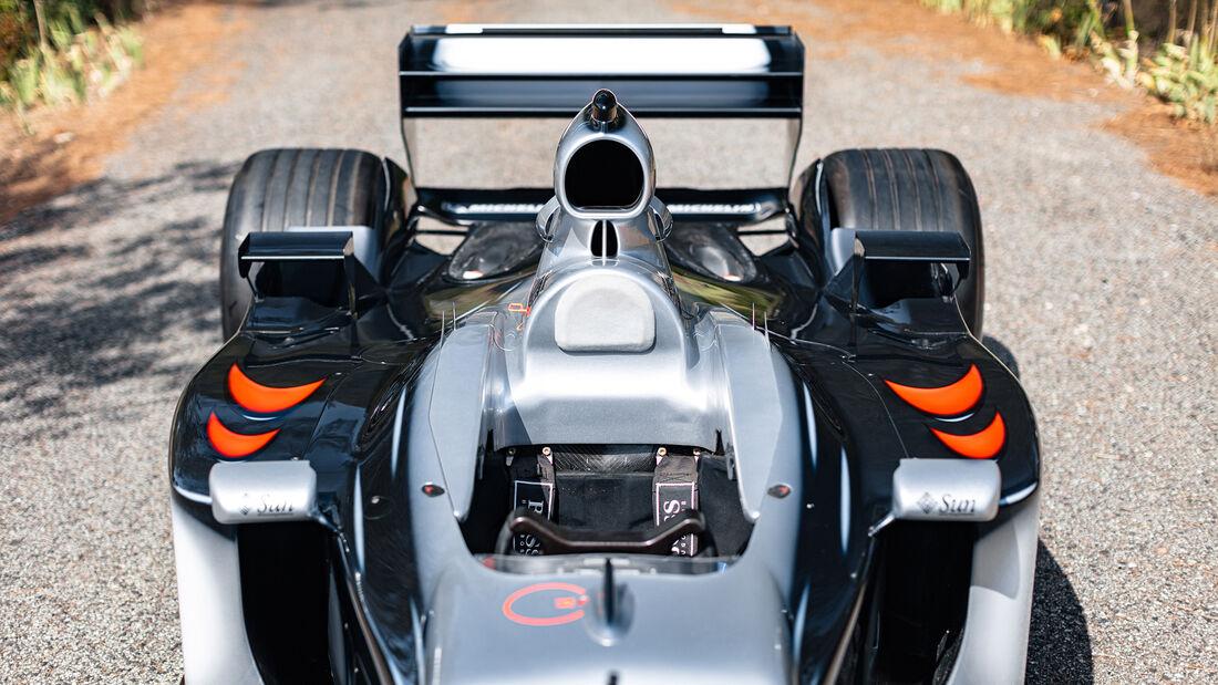 McLaren-Mercedes MP4-17 - Formel 1 - Rennwagen - Saison 2002/2003