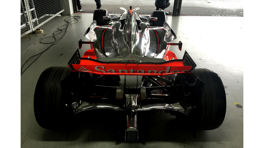 McLaren Mercedes MP4-23 - Mercedes Track Day - Hockenheim - 28. Juni 2016