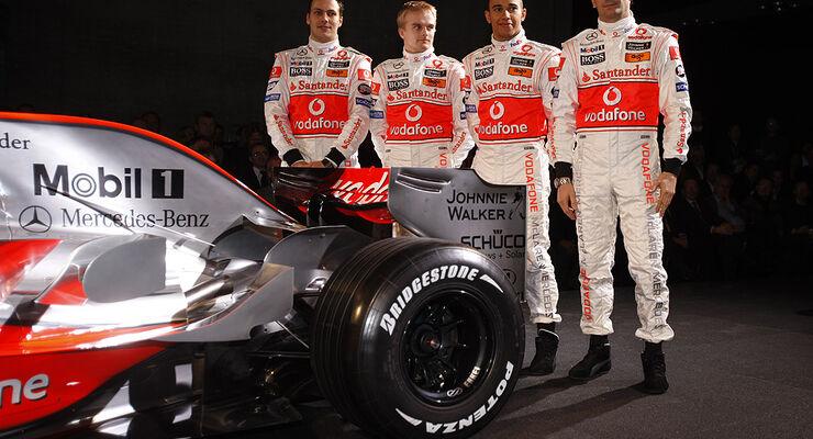McLaren-Mercedes Team 2008