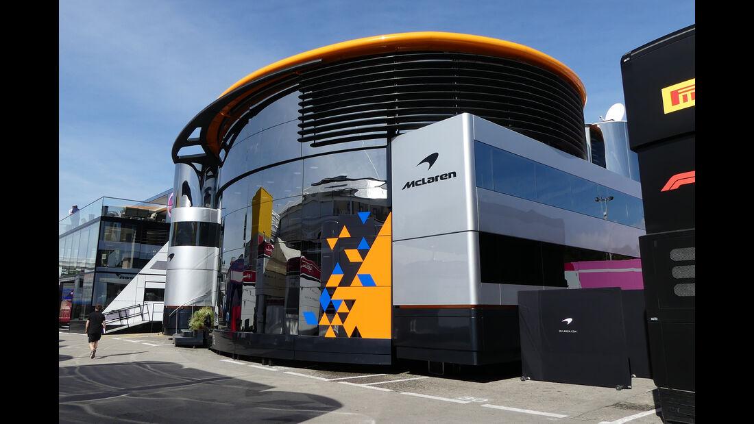 McLaren - Motorhomes - Formel 1 - GP Spanien 2019