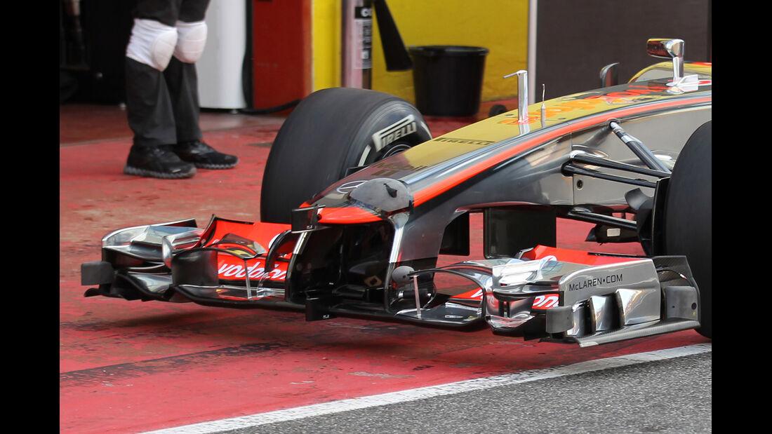 McLaren Mugello 2012 Formel 1 Technik