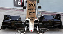 McLaren Nase - Bahrain - Formel 1-Test  - 2014