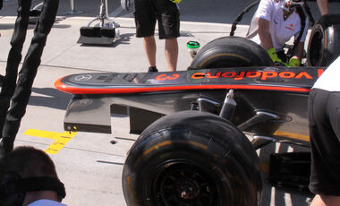 McLaren Nase GP Japan 2012