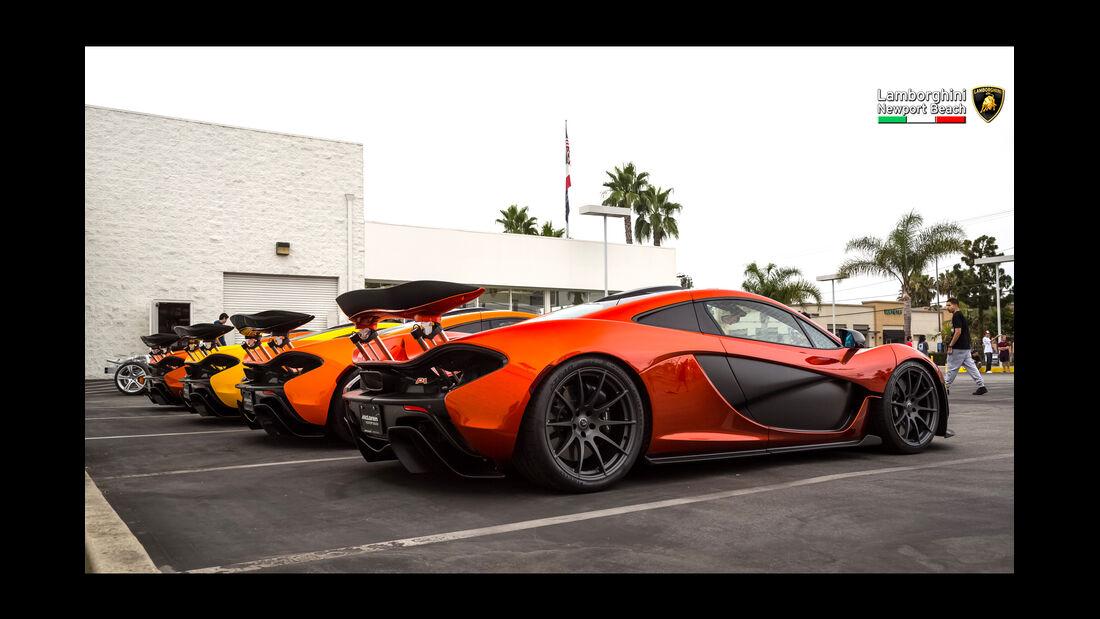 McLaren P1 - 200 mph Supercarshow - Newport Beach - Juli 2016
