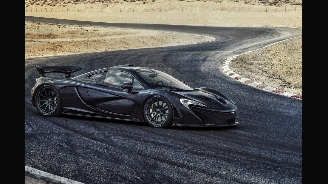 McLaren P1, Exterieur