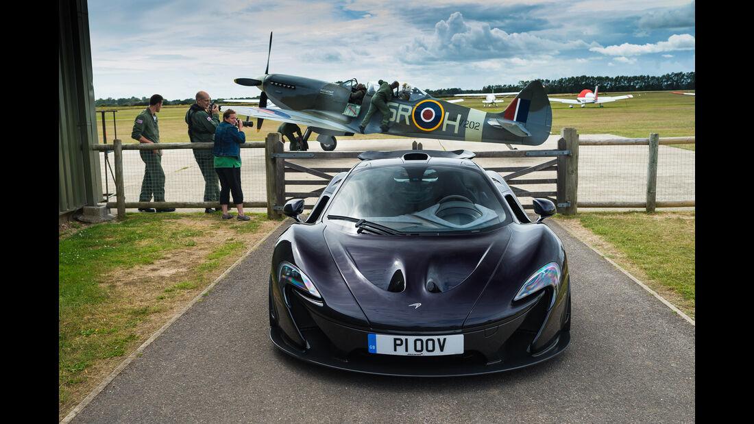 McLaren P1, Frontansicht